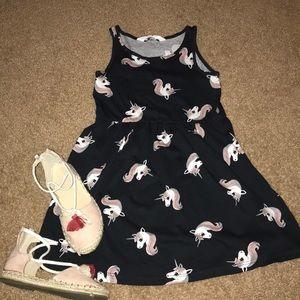 H&M unicorn dress